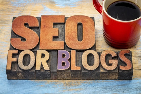 Schriftzug SEO for Blogs